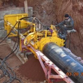 Строительство газонефтепровода